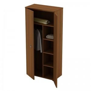 Шкаф для одежды с дополнением 90x46x197