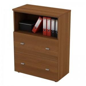 Шкаф для документов с ящиками средний 90x46x120