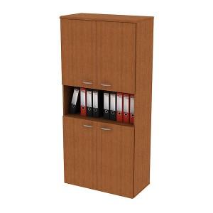 """Шкаф для документов высокий с нишей 90x46x197 """"Профи"""""""