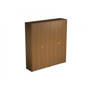 Шкаф комбинированный закрытый (одежда-документы) 183x45x199