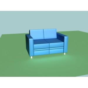 Диван-кровать двухместный A-02