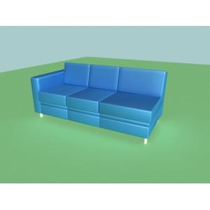 3-х местная диван-кроватная секция A-02