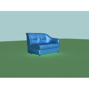 2-х местная диванная секция V-300