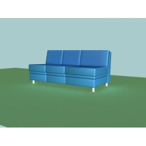3-х местная диванная секция (бп) A-02