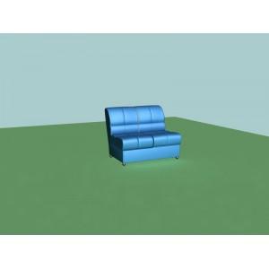 2-х местная диванная секция (бп) V-400