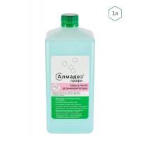 Алмадез-профи дезинфицирующее средство в виде жидкого мыла.