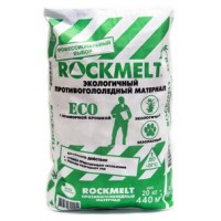 Противогололедный реагент Rockmelt (Рокмелт) ECO мешок 20кг