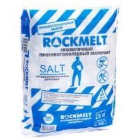 Противогололедный реагент Rockmelt (Рокмелт) Salt мешок 20 кг.