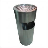 Урна уличная выполнена из нержавеющей стали. GBА-20L