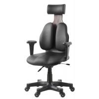 Ортопедическое кресло Сabinet DW-140 (обивка натур. кожа крестовина дерево палисандр)