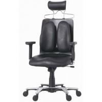 Ортопедическое кресло Сabinet DW-150 (обивка натур. кожа крестовина дерево палисандр)