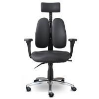 Ортопедическое кресло Duorest Leaders DD-7500G (экокожа, ткань)