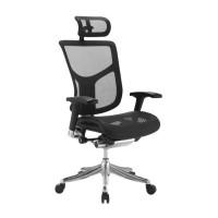 Эргономичное компьютерное кресло Expert Sail (черное)