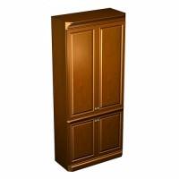 Шкаф для одежды 100x48x228 (ШхГхВ)