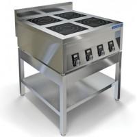 Открытая подставка из нержавеющей стали для плиты ИПП-410134