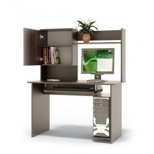 Компьютерный стол КСТ-04В+КН-24В (венге)