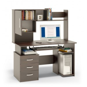 Компьютерный стол КСТ-08В+КН-34В (венге)