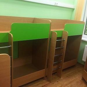Кровать 2-х ярусная Машенька NEW для детского сада